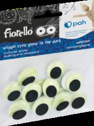 oči samolepící  20mm 15ks fluorescenční 170-2563