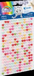 kamínky perličky 170-2584 samolepící mix barev