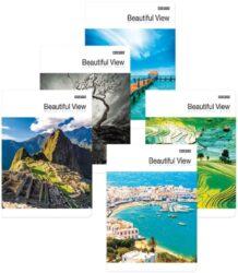 sešit A5 TOP 60l 60g linka Beautiful View-PRODEJ POUZE PO BALENÍ