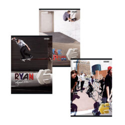 záznamní kniha A5 linka 96l Skate