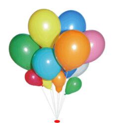balónek koule 29/95 červená-PRODEJ POUZE PO BALENÍ