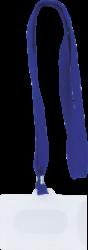 jmenovka na krk se šňůrou-rozměry: 90 x 65 mm