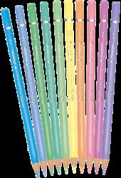 pastelky Colorino kulaté pastel 10ks(5907620180813)