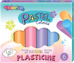 modelína Colorino  6 barev pastel