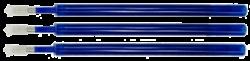 náplň Colorino gumovací modrá 3ks (662)-gumovací náplň do kuličkového pera COLORINO