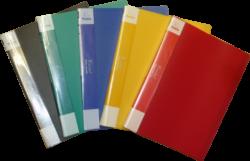 katalogová kniha Patio  30 listů černá-Katalogová kniha s tuhými barevnými deskami