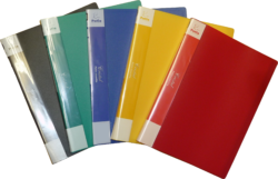 katalogová kniha Patio  40 listů červená 457-Katalogová kniha s tuhými barevnými deskami