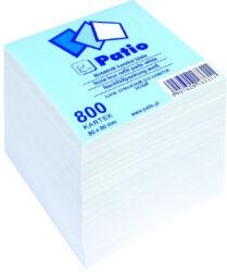 kostka  bílá 8x8 800 listů - náhrada