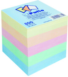kostka nelepená barevná 8x8 800 listů - náhrada