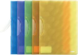 ždesky s klipem A4 PAT pastel.oranžové - 607