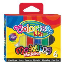 modelína Colorino  6 barev-balení obsahuje 6 barev