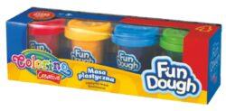 model.hmota Colorino Fun Dough   4x56g-Modelovací hmota rozvíjí dětskou představivost, kreativitu a fantazii.