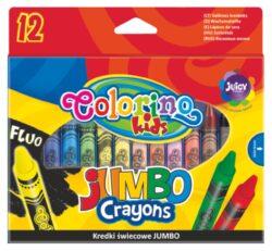 voskovky Colorino 12 ks Jumbo
