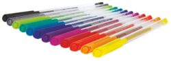 popisovač gel Colorino Glitter trojboký 12barev 1mm(5907690832469)