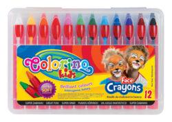 barvy obličejové Colorino 12ks