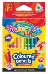 pastelky Colorino trojhranné  12ks mini-Kvalitní MINI pastelky v ergonomickém tvaru pro správné držení.