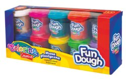 model.hmota Colorino Fun Dough  10x56g-Modelovací hmota rozvíjí dětskou představivost, kreativitu a fantazii.