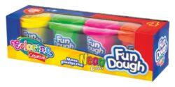 model.hmota Colorino Fun Dough  4x56g Neon-Modelovací hmota rozvíjí dětskou představivost, kreativitu a fantazii.