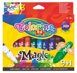 popisovače Colorino Magic  9+1ks