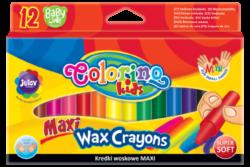 voskovky Colorino 12ks jumbo