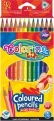 pastelky Colorino trojhranné  12ks-Kvalitní pastelky v ergonomickém tvaru pro správné držení.