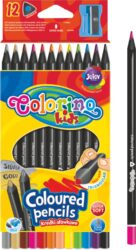 pastelky Colorino trojhranné Black wood 12ks