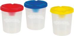žkelímek na vodu Colorino s bezpečnost.uzávěrem*-plastový kelímek na výtvarnou výchovu