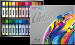 pastely suché Colorino Artist 24ks-výborná roztíratelnost vynikající efekt malování