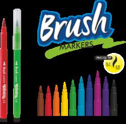 popisovače Colorino štětečkové 10 barev(5907690865610)