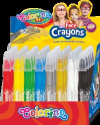 barva na obličej Colorino 40ks - stojánek