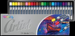 pastely olejové Colorino Artist 24ks-brilantní, stálobarevné barvy