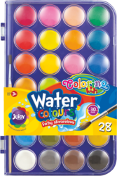 barvy vodové Colorino 27mm 28ks
