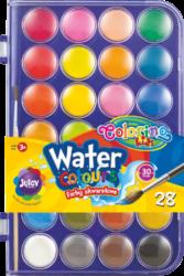 barvy vodové Colorino 28ks