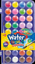 barvy vodové Colorino 22mm 36ks