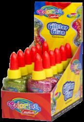 lepidlo Colorino glitrové konfety 37ml mix barev(5907690868765)