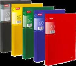 katalogová kniha Patio  60 listů žlutá-Katalogová kniha s tuhými barevnými deskami