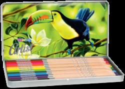 pastelky Colorino Artist 12ks kovová krabička(5907690883256)