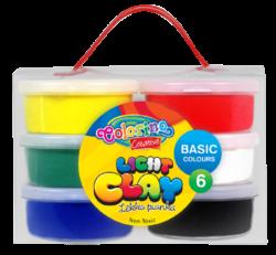 model.hmota Colorino Light Clay 6 barev-Modelovací hmota rozvíjí dětskou představivost, kreativitu a fantazii.