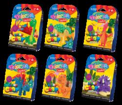 model.hmota Colorino Light Clay Dino-Modelovací hmota rozvíjí dětskou představivost, kreativitu a fantazii.
