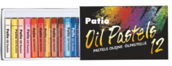 pastely olejové 12ks Patio