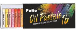 pastely olejové 16ks Patio