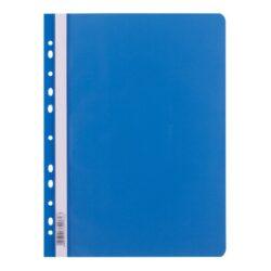 rychlovazač plast A4 s euroděr.modrý (255) 009012-PRODEJ POUZE PO BALENÍ !!