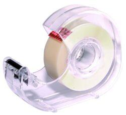 lepící páska  19 x 33 s odvíječem INVISIBLE 009363-bankovní páska