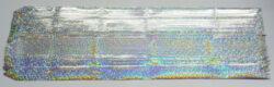 stuha stah. 2,5/50 hologram stříbrná-PRODEJ POUZE PO BALENÍ