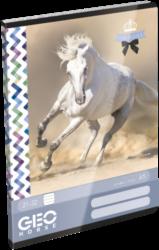 sešit A5 32l linka Geo Horse One 17172306-PRODEJ POUZE PO BALENÍ