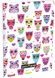 blok A5 70l linka spirála bok Lollipop Light Owl 17304723