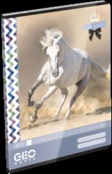 sešit A4 32l linka Geo Horse One 17309206-PRODEJ POUZE PO BALENÍ
