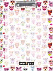 podložka A4 s klipem Lollipop White owl 15335402
