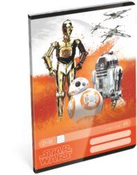 sešit A5 32l linka Star Wars 7 Robots 15431611-PRODEJ POUZE PO BALENÍ