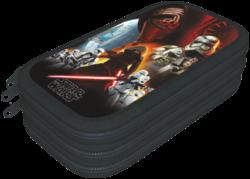 penál 3 patra prázdný Star Wars 7 Force Awakens 16434613